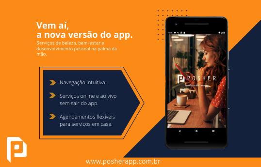 Novo app da POSHER