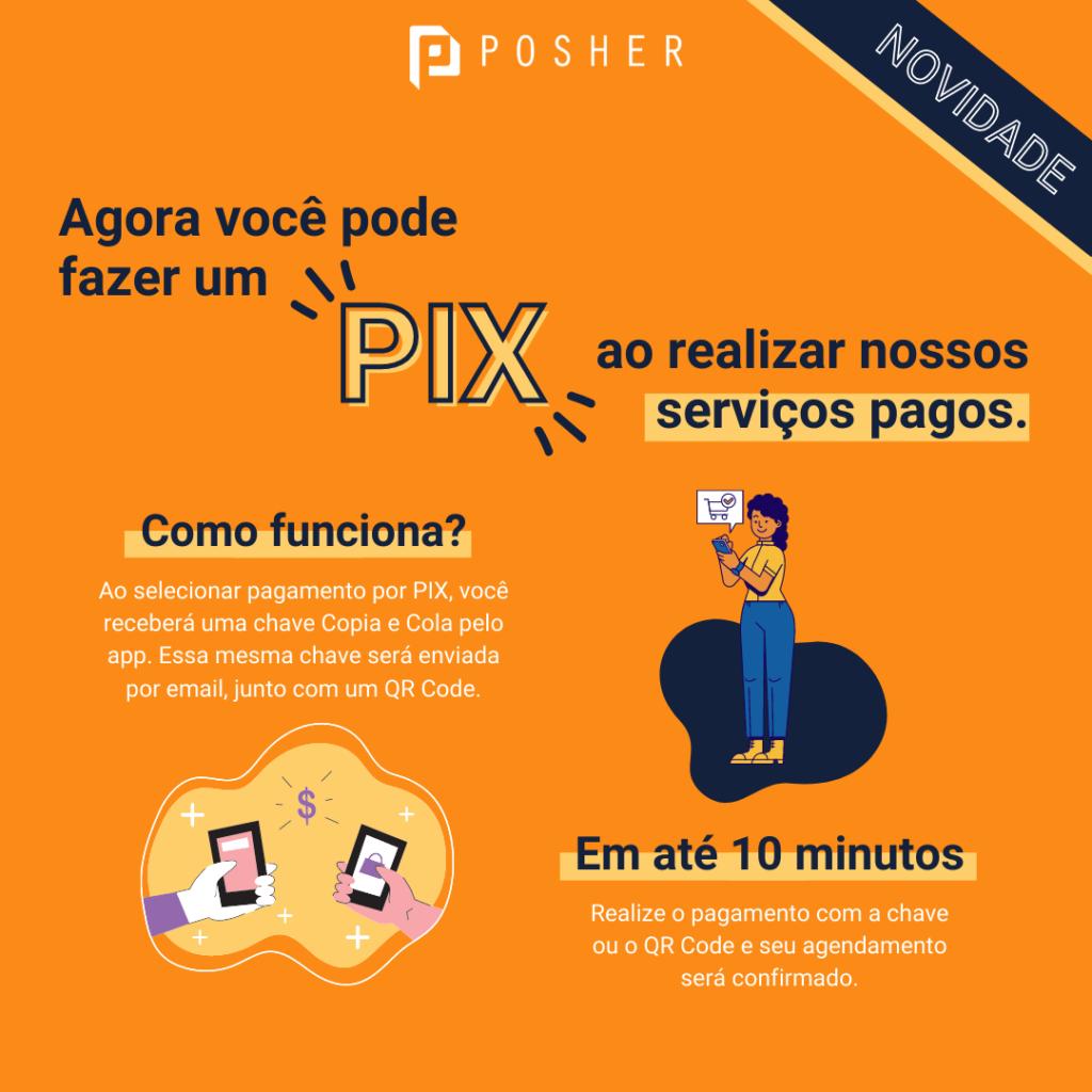 O primeiro app de bem-estar a oferecer PIX