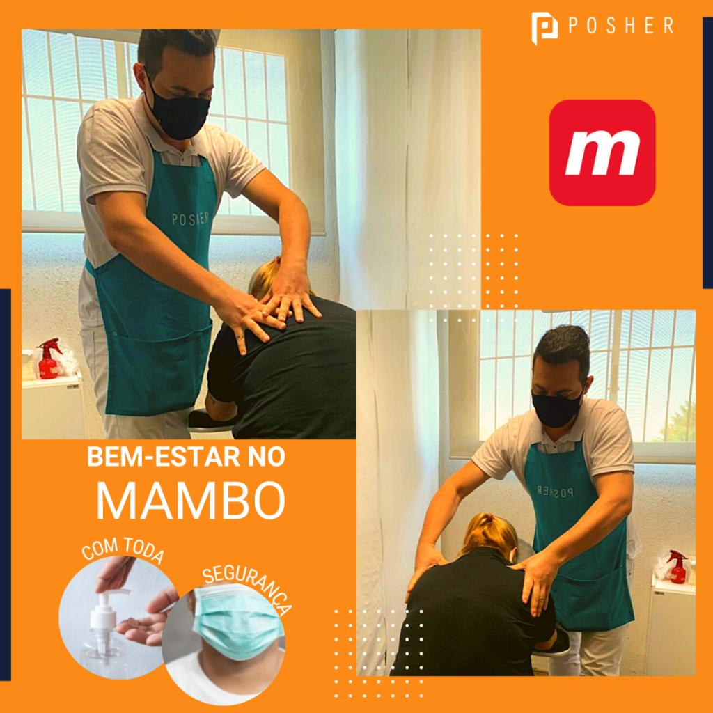 Manicure e massagem no Mambo com a POSHER