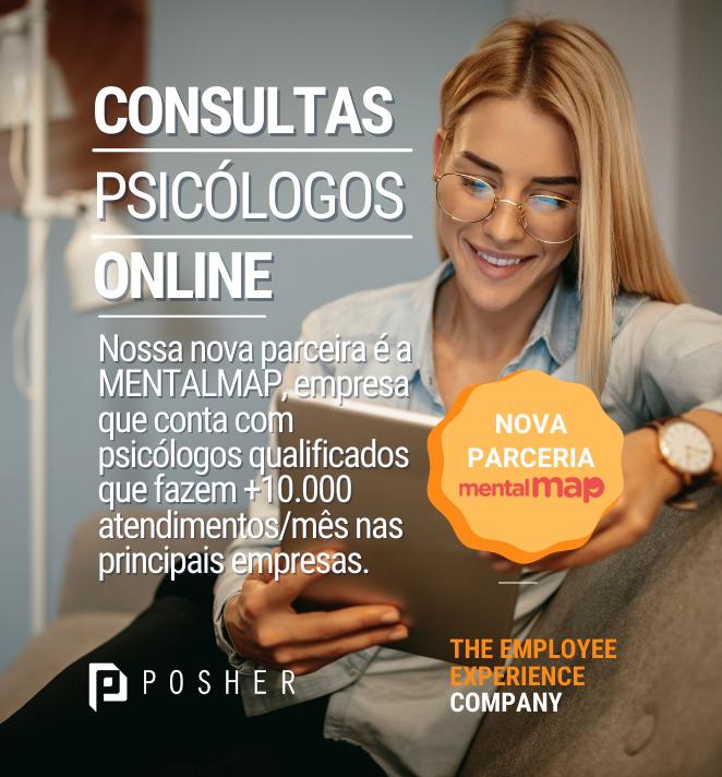 Consulta psicológica com a POSHER e Mentalmap
